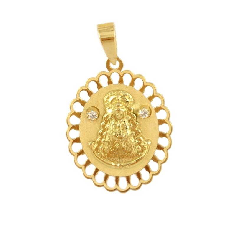 Medalla oro Virgen del Rocío