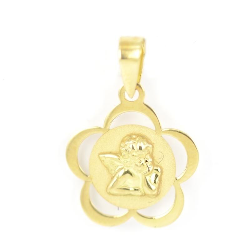 Medalla oro bebé