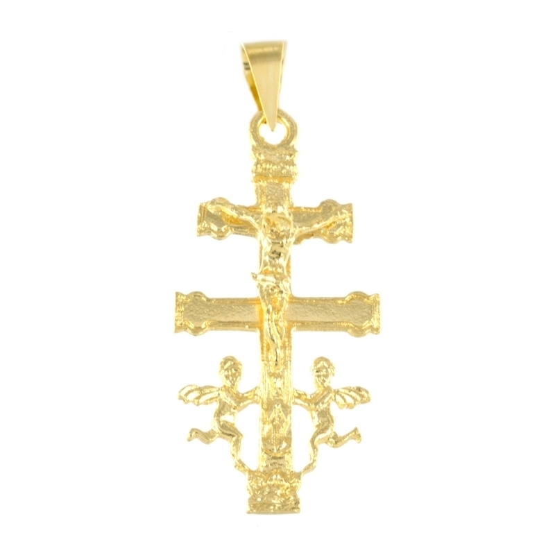 Cruz oro Caravaca