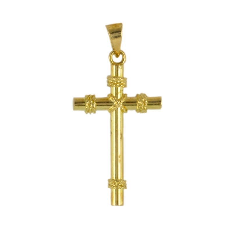 Cruz de oro Lisa